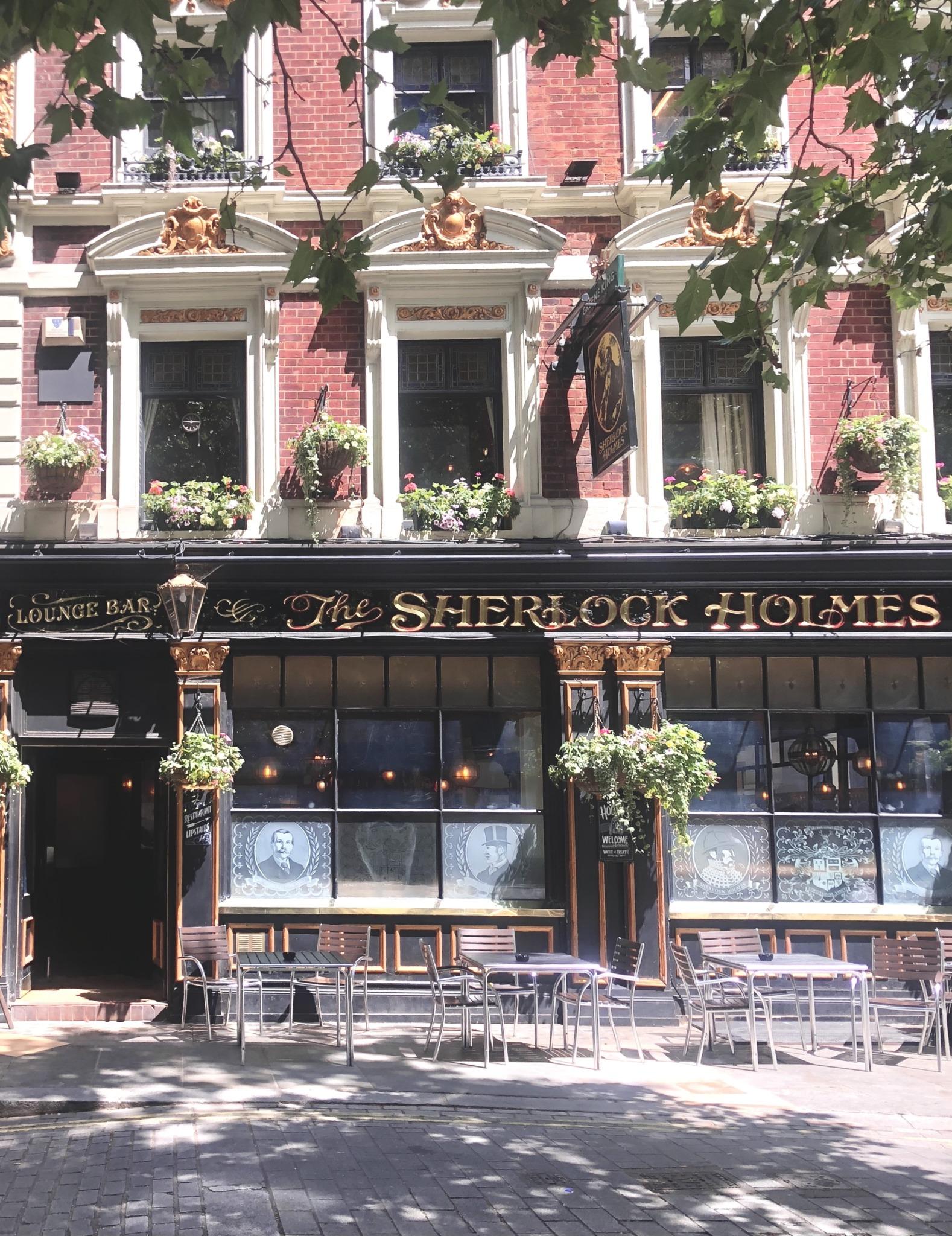 things to do in london - sherlock holmes pub