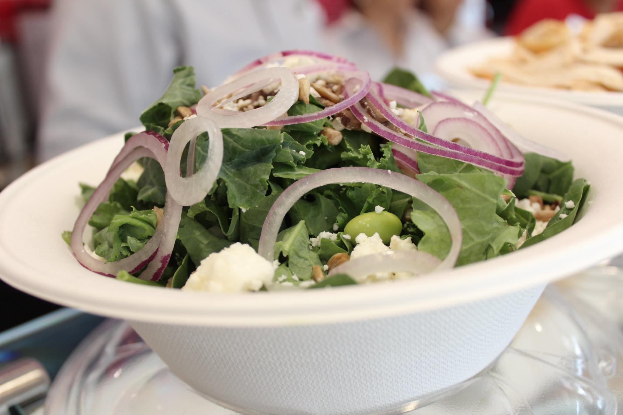 salad northeastern best college food
