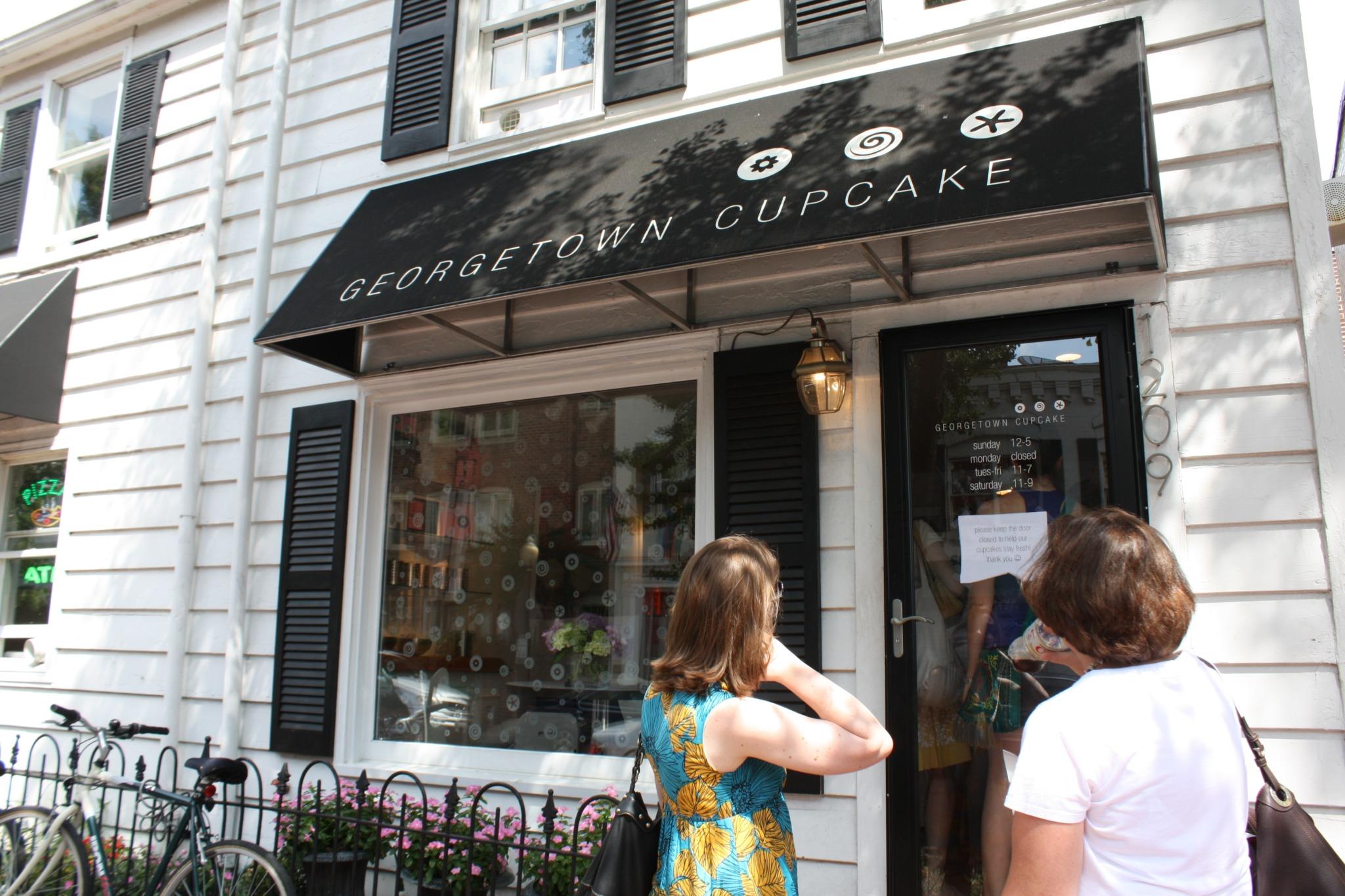 Georgetown Cupcake Exterior