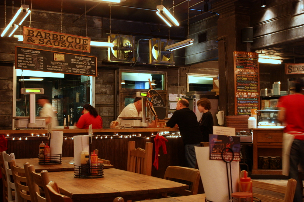 Hill Country BBQ Interior