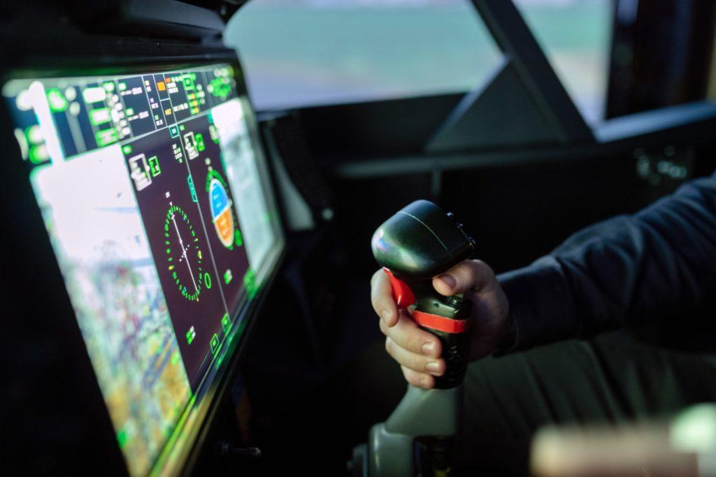 anaheim flight simulator