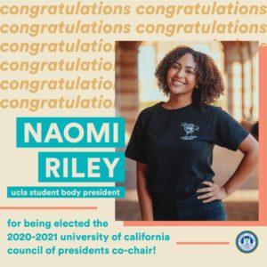 President Naomi Riley